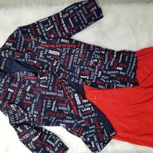 Vibrant Red NY&Co  Bermuda Shorts